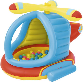 Игровой центр надувной BestWay Вертолёт 52217 BW цена