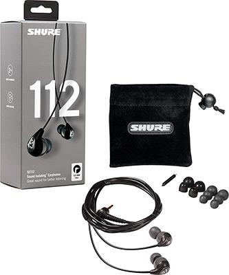 Фото - Вставные наушники Shure SE 112-GR-EFS серый вставные наушники shure se 215 spe b uni efs прозрачный голубой
