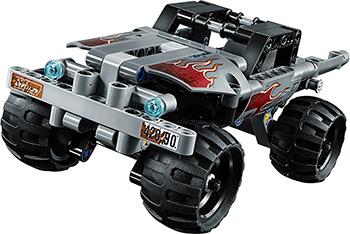 лучшая цена Конструктор Lego TECHNIC Машина для побега 42090