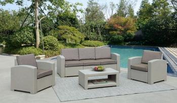Комплект мебели Афина AFM-3017 G Light grey кресло афина afm 407 g grey