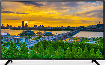 4K (UHD) телевизор Hyundai H-LED 55 U 602 BS2S черный