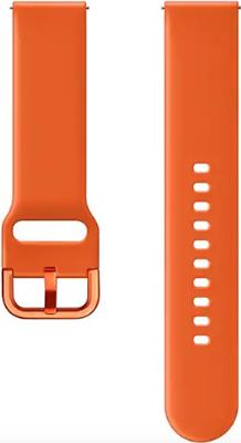 Ремешок Samsung Galaxy Watch Active (R500) active orange M ET-SFR50MOEGRU цена