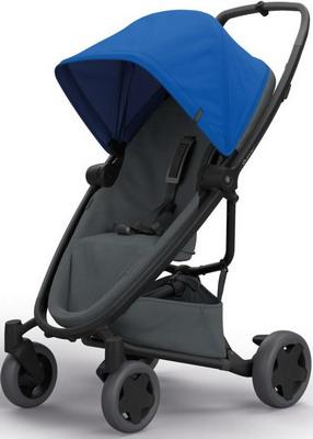 Коляска Quinny Zapp Flex Plus blue on graphite 1398379000 коляска прогулочная quinny yezz blue трек 76505130