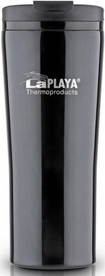 Термокружка LaPlaya Vacuum Travel Mug 0 4 L Black 560057 термокружка stanley go ceramivac 0 7l vacuum mug shale светло серый