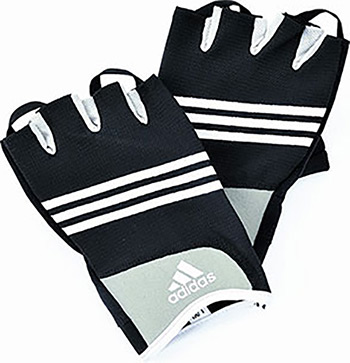 цена Перчатки Adidas Stretchfit Training Glove L/XL ADGB-12233 онлайн в 2017 году