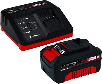 Аккумулятор + зарядное устройство Einhell PXC 18В 3 Ач 4512041 аккумулятор bosch pba 18в 2 5 ач w b