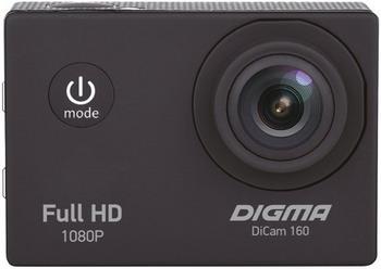 Экшн-камера Digma DiCam 160 черный цена и фото