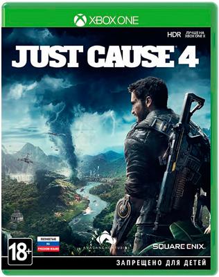 Игра для приставки Microsoft Xbox One Just Cause 4 Стандартное издание
