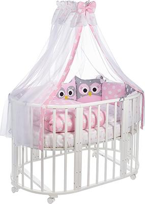 Комплект постельного белья Sweet Baby 424 473 Uccellino Rosa (Розовый) 10 пр цены онлайн