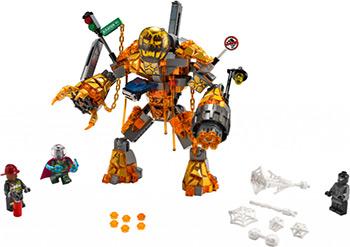 Конструктор Lego Super Heroes Бой с Расплавленным Человеком 76128