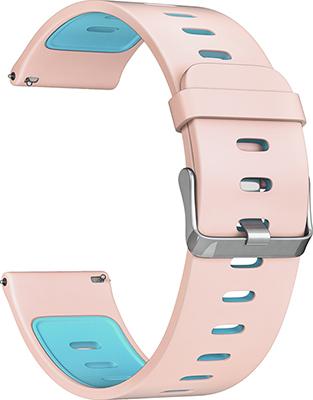 цена на Ремешок для часов Lyambda универсальный для часов 22 mm ADHARA DS-GS-08-22-PB Pink/Blue