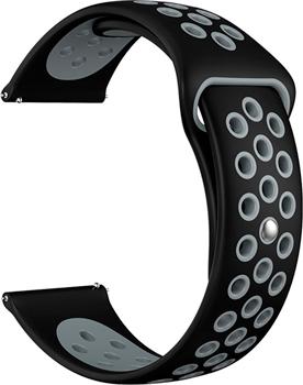 Ремешок для часов Lyambda универсальный для часов 20 mm ALIOTH DS-GS-03-20-BG Black/Grey dwt ds 250 gs