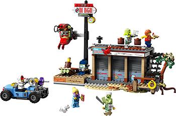 Конструктор Lego Нападение на закусочную 70422