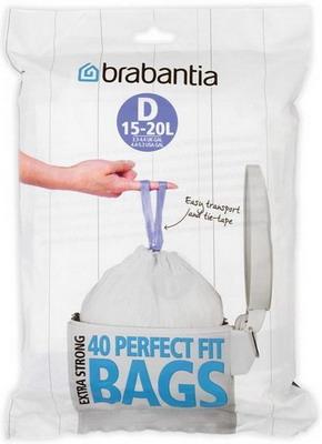 Мешки для мусорных ведер Brabantia D 15-20л 40шт 362187 ed 198 кашпо уютный дом