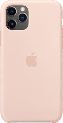 купить Чехол силиконовый Apple Silicone Case для iPhone 11 Pro Pink Sand MWYM2ZM/A дешево
