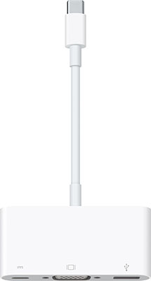 Адаптер Apple USB-C VGA Multiport Adapter MJ1L2ZM/A цена