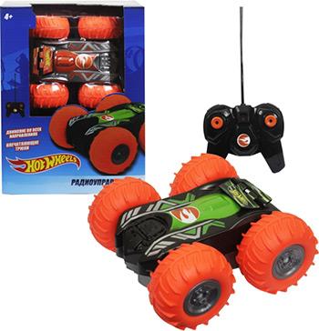 Машинка 1 Toy трюковая машина-перевёртыш на р/у Hot Wheels Т13858 цена
