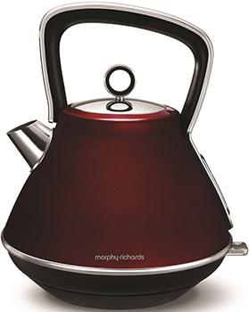 Чайник электрический Morphy Richards Evoke Pyramid Red 100108EE