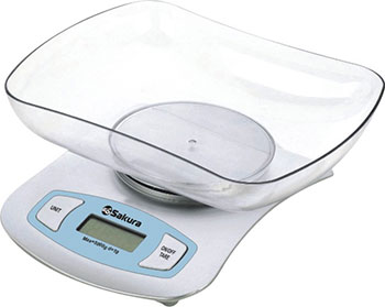 Весы кухонные электронные Sakura SA-6052S