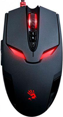 Мышь игровая проводная A4Tech Bloody V4M черный мышь игровая a4tech bloody p91 pro черный