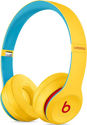 Накладные наушники Beats Solo3 Wireless Headphones – Club Collection Yellow MV8U2EE/A