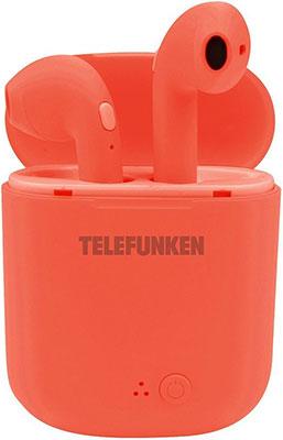 Вставные наушники Telefunken TF-1000B(красный)