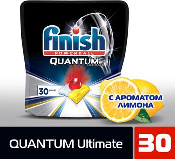 Капсулы FINISH д/пмм 3120271 30 шт Лимон дойпак Quantum Ultimate таблетки д пмм finish all in1 max лимон 65шт