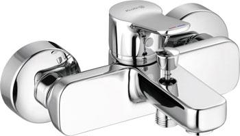 Фото - Смеситель для ванной комнаты Kludi PURE&EASY для ванны и душа арт. 376810565 смеситель для ванной комнаты kludi ameo для ванны и душа 414450575