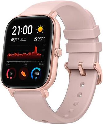 Умные часы Xiaomi Amazfit GTS A1914 gold-pink