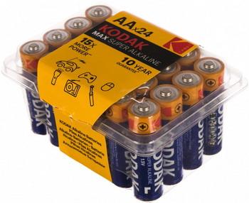 Батарейка KODAK MAX LR6-24 plastic box 30411197