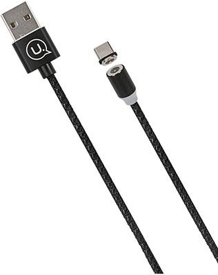 Фото - Кабель Usams SJ293 USB - Type-C Магнитный кабель черный (SJ293USB01) кабель more сhoice k12i черный