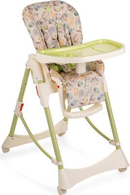 Стульчик для кормления Happy Baby Kevin V2 GREEN стульчик для кормления happy baby wiliam v2 lilac