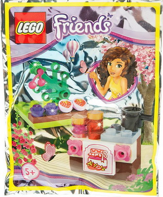 Конструктор Lego Friends Сделай варенье 561506 lego friends ластик 4 шт 51608
