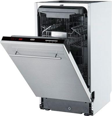 лучшая цена Полновстраиваемая посудомоечная машина De'Longhi DDW 06 S Cristallo ultimo