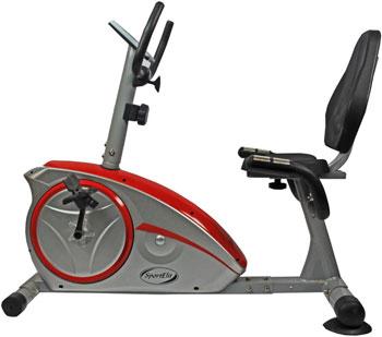 Велотренажер горизонтальный SPORT ELIT SE-601 R цена