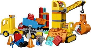 Конструктор Lego DUPLO Town: Большая стройплощадка 10813