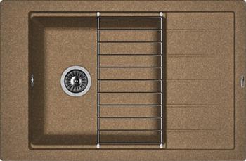 Кухонная мойка Florentina Липси 780 Р коричневый FG мойка кухонная florentina липси 780 коричневый fg 20 270 с0780 105