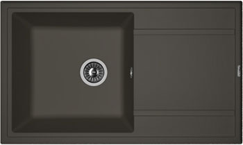 Кухонная мойка Florentina Липси-860 860х510 антрацит FSm искусственный камень цены