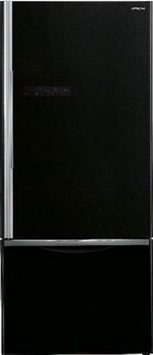 Двухкамерный холодильник Hitachi R-B 572 PU7 GBK