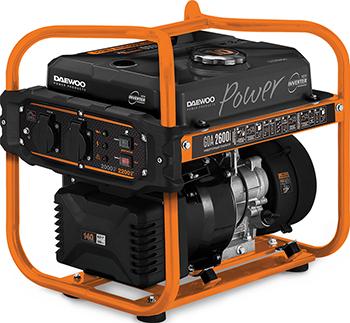 Электрический генератор и электростанция Daewoo Power Products GDA 2600 i