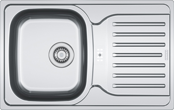 Кухонная мойка FRANKE POLAR нерж PXN 614-78 101.0192.910 цена