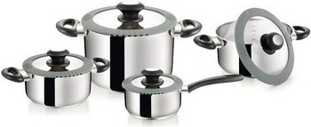 Набор посуды Tescoma SmartCOVER 727908 ковш tescoma smartcover с крышкой 727941