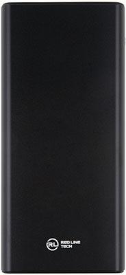 Внешний аккумулятор Red Line RP-16 (20000 mah)  металл  черный
