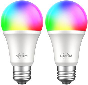Комплект умных ламп Nitebird Smart bulb 2шт цвет мульти (WB4-2 pcs/pack)
