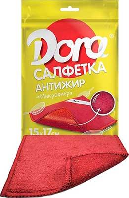 Средство для чистки куxни Dora Салфетка из микрофибры ''Антижир'' салфетка из микрофибры qualita антипыль 1 мл