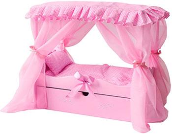 Кровать Paremo с выдвижным ящиком PFD120-60 для кукол paremo кровать с выдвижным ящиком для кукол с постельным бельем и балдахином pfd120 60 розовый