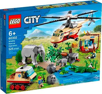 Конструктор Lego CITY ''Операция по спасению зверей''