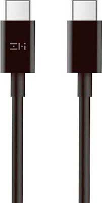 Фото - Кабель Zmi Type-C/Type-C 100 см 100W 5A (AL307E) техпак черный кабель usb silver serpent type c rc 080a 1 м розовое золото