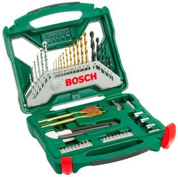 Набор принадлежностей Bosch X-Line Titanium 50 предметов (2607019327) x line комплект titanium 103 2 607 019 331