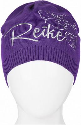 Шапочка Reike Мальва фиолетовая р. 56 шапочка с отворотом для девочки barkito лошадки